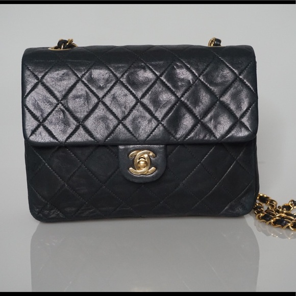 86845cadd879 CHANEL Bags | Vintage Quilted Square Flap Cross Body Bag | Poshmark
